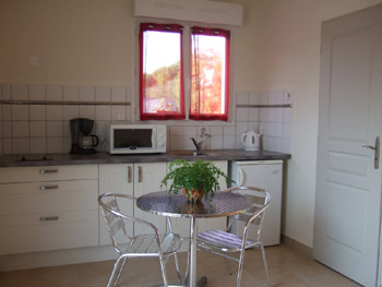 bed and breakfast near Avignon in Provence  kitchen